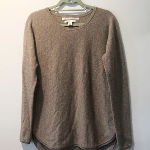 MAX STUDIO 2-Ply Cashmere Sweater, Size Large